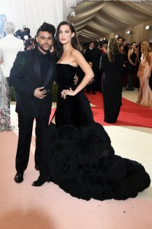 The Weeknd in Givenchy & Bella Hadid in Givenchy Couture